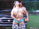 Beefy Passer By Pounding Fuck and Juicy Suck