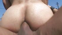 Sexy Gay Latino Gets Tight Ass Rammed Hard