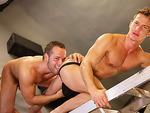 Huge dicks dudeDarius Ferdynand and Luke Adams shoots loads of cum while getting pounded