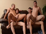 Hard Orgy with Eli Hunter and Friends